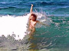 Ikaria 191 (isl_gr (away on an odyssey)) Tags: island freedom waves beautyconcealed ikaria icaria aegean replacement september greece actionshot  waterdreams meltemi