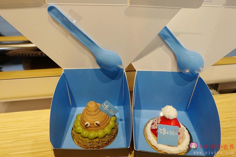 [桃園.美食]ATT筷時尚~『海是甜的』甜點蛋糕主要是外帶為主、加碼鱷魚騎士、快樂鹽酥雞 @VIVIYU小世界