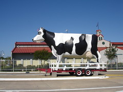 Giant Cow at State Farmer's Market, Montgomery AL