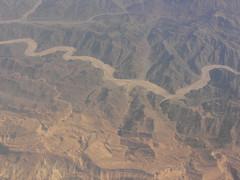 A wadi in the Sinai desert, by Lars Ploughman