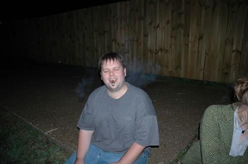 Smoking Drunk
