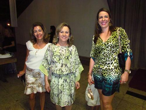 Soninha Assis, a prefeita Cecília Ferramenta e Renata Paiva