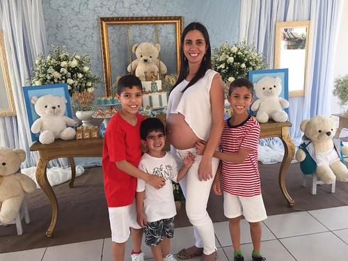 Sobrinhos  Samuel , Heitor e Vinicius