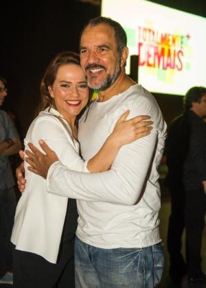 Viviane Pasmanter repete parceria com Humberto Martins como mulher ciumenta