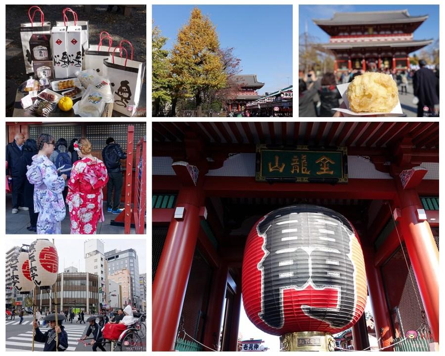 [日本.東京]淺草寺.東京都內歷史最悠久的寺院~喜歡日本傳統文化必排景點之一.仲見世商店街.人力車觀光 @VIVIYU小世界