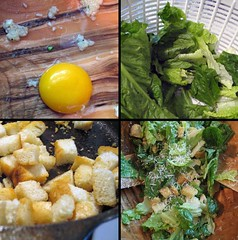 Traditional Caesar Salad, not Caesar Salad Bites