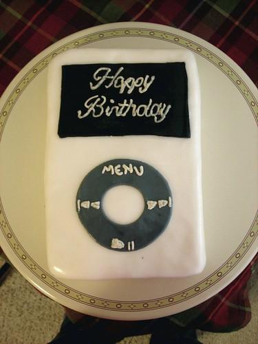 Happy 54th birthday Steve Jobs. ipod bday photo. Wishing Steve good recovery.