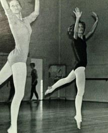 1960s Dancing Barefoot