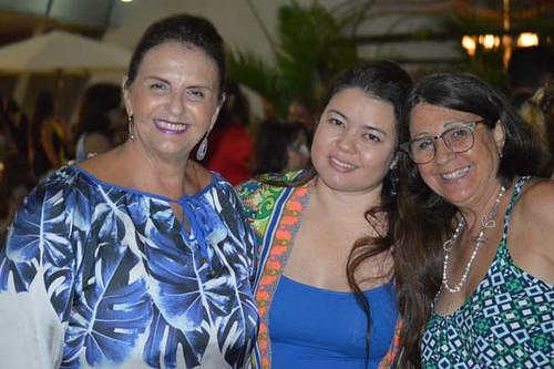 Milene Coelho, Paula Silveira e Jane Pinto
