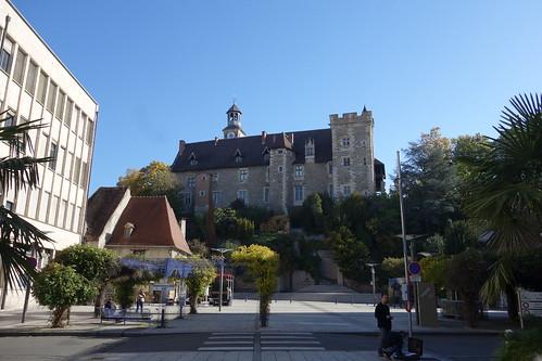 Un autre petit stop à Montluçon et son centre ville médiéval