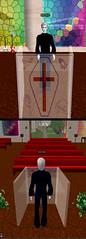 Blake Tries on a Church
