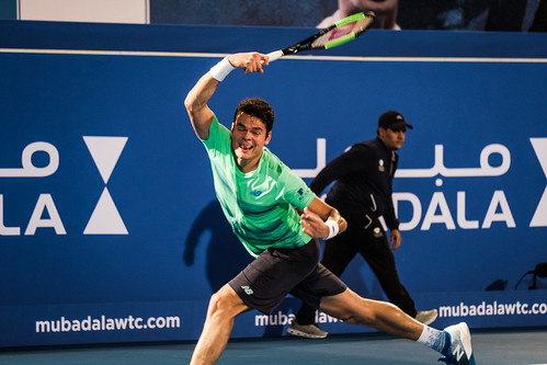 """Milos Raonic • <a style=""""font-size:0.8em;"""" href=""""http://www.flickr.com/photos/125636673@N08/31180616643/"""" target=""""_blank"""">View on Flickr</a>"""