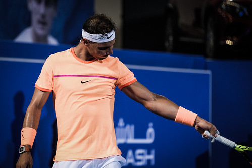 """Rafael Nadal is sure that ball was out • <a style=""""font-size:0.8em;"""" href=""""http://www.flickr.com/photos/125636673@N08/31990037815/"""" target=""""_blank"""">View on Flickr</a>"""
