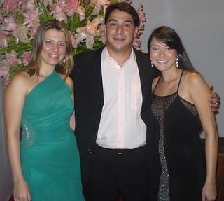 Marlucia Gomes, Tonico Cambraia e Camila Gomes