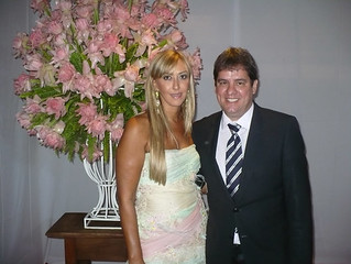 Lúcia Miranda e Leoncinho Guimarães