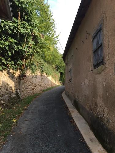 Ancienne rue des tanneurs, avec ces cornes pour faire sécher les peaux
