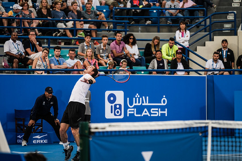 """Andy Murray's service against David Goffin • <a style=""""font-size:0.8em;"""" href=""""http://www.flickr.com/photos/125636673@N08/31180772813/"""" target=""""_blank"""">View on Flickr</a>"""