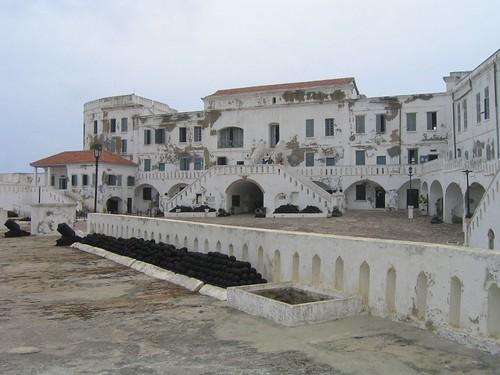 Slave Castle in Cape Coast