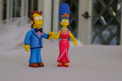 cake topper by J. McPherson.