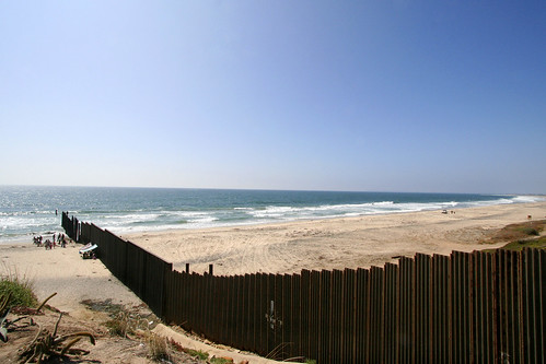 the tijuana wall