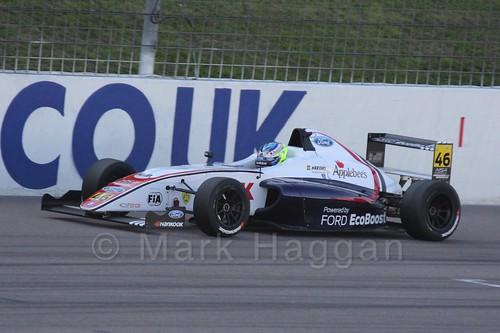 Rafael Martins in MSA Formula at Rockingham, September 2015