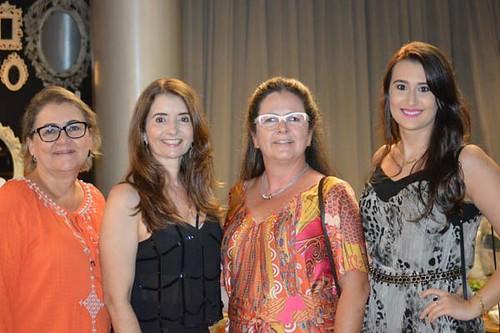 Marlene Damasceno Rocha, Rosane Franco, ana Maria Torquetti e Larissa Franco
