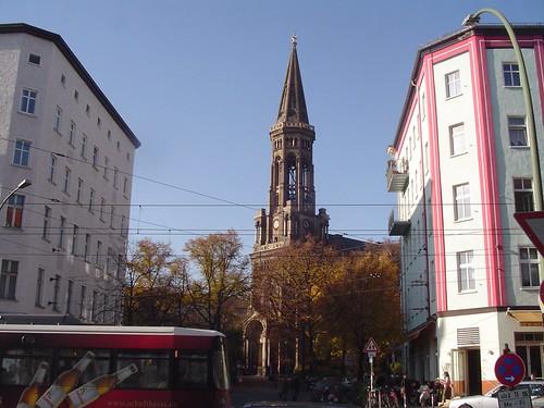 Berlin Germany Zionschurch von Ihnen.