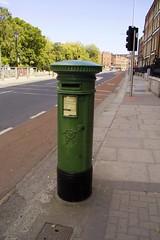 Green Dublin Letterbox - Stephens Green Dublin
