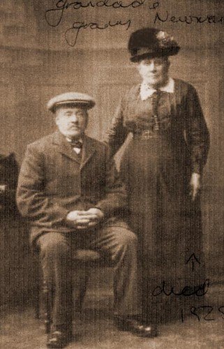 Alfred Newman with his wife Harriet (née Cooper)