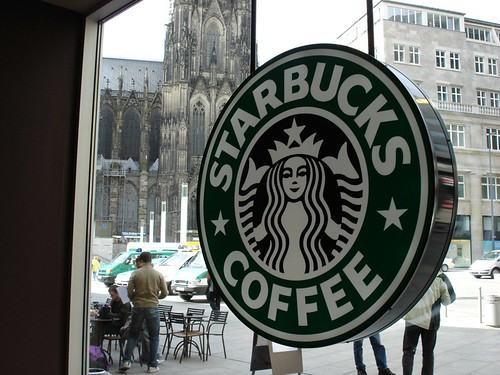 Starbucks in Köln Hbf