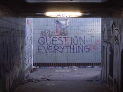 Question Everything / Nullius in verba / by dullhunk, on Flickr