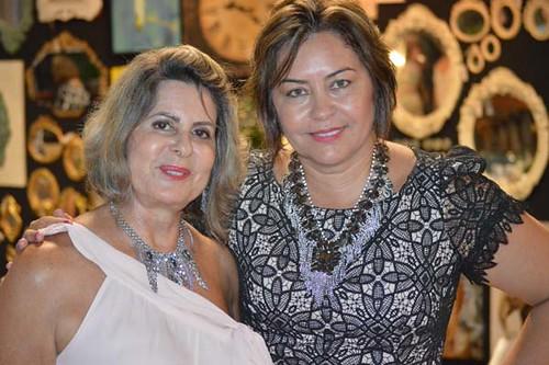 Carmelita Mendes e Cecília Machado