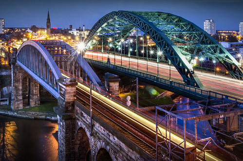 Bridges across the Wear, Sunderland