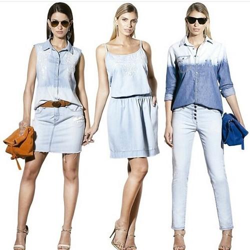 Jeans Scalon, perfeitos para o verão 40 graus do Vale