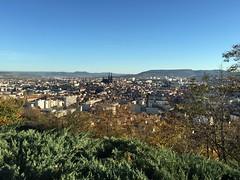 Clermont-Ferrand depuis le parc de Montjuzet