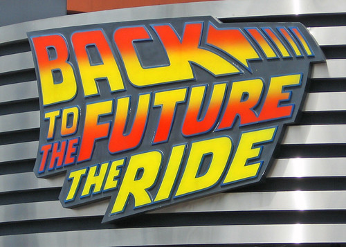 Back To The Future Ride, Universal Studios, Burbank, California IMG_0085