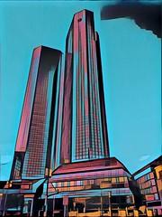 Zwillingstürme der Deutschen Bank