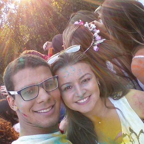 Thalis Madeira e Fran Freitas