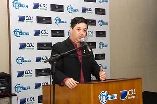 O presidente da ACIAPI, Luís Henrique Alves