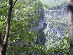 A natural bridge