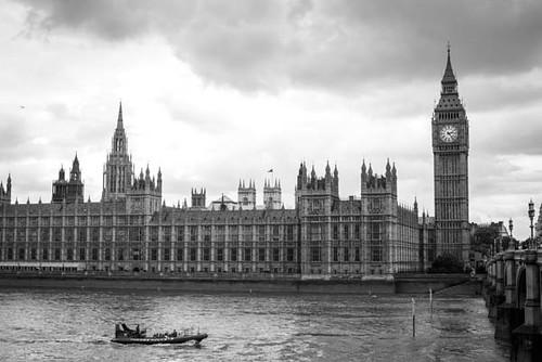 Parlamento em Londres