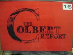 The Colbert Report ticket