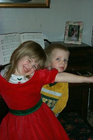 Ria and Gus at the Piano