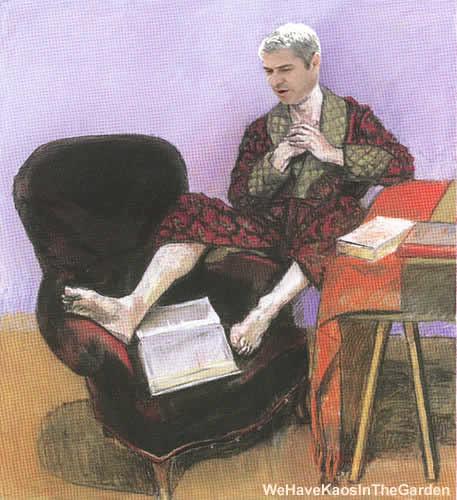 José Sócrates by kaosinthegarden.