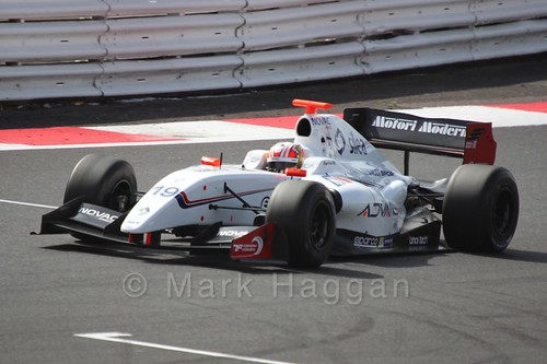 Pietro Fantin in Saturday's Formula Renault 3.5 Race at Silverstone