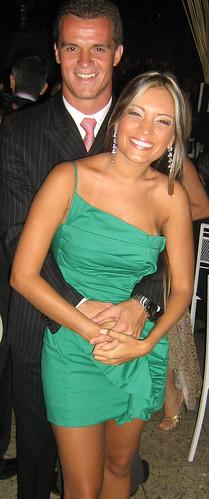 Fernanda Mourthé Ramos e Rafael Assef