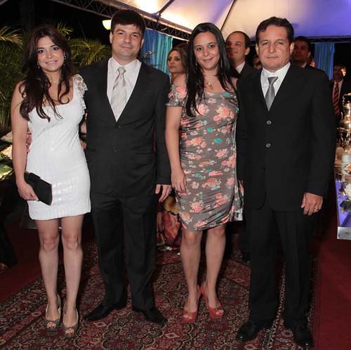 Alexandra e Marcelo mansur, Gláucia e Rubinho Maia