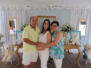 Didiane e os pais, Dídimo e Marinete