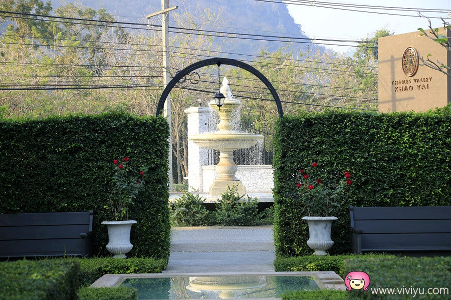 [拷艾.住宿]泰晤士谷飯店Thames Valley Khao Yai Hotel~宛偌身處歐洲莊園.處處皆美景 @VIVIYU小世界