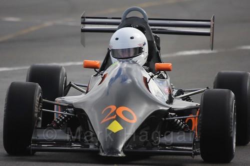 Anthony Gauntlett in Formula Jedi at Donington, September 2015